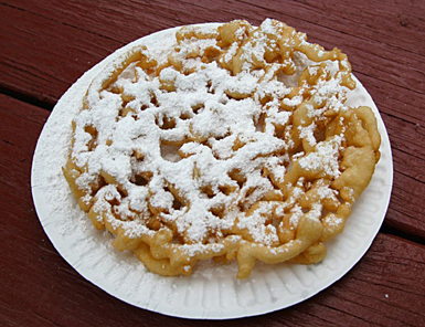 funnel cake DECLINE, DECAY, DENIAL, DELUSION & DESPAIR