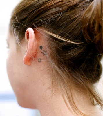 Star Tattoo Ear