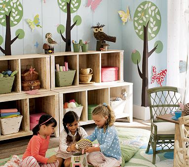 Sixty Fifth Avenue Pottery Barn Kids Playroom Remake