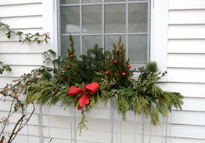 window boxes enable you to create a colourful mini garden even in the most unpromising urban setting usually placed outside they are also effective - Window Box Decorations Christmas Outdoor