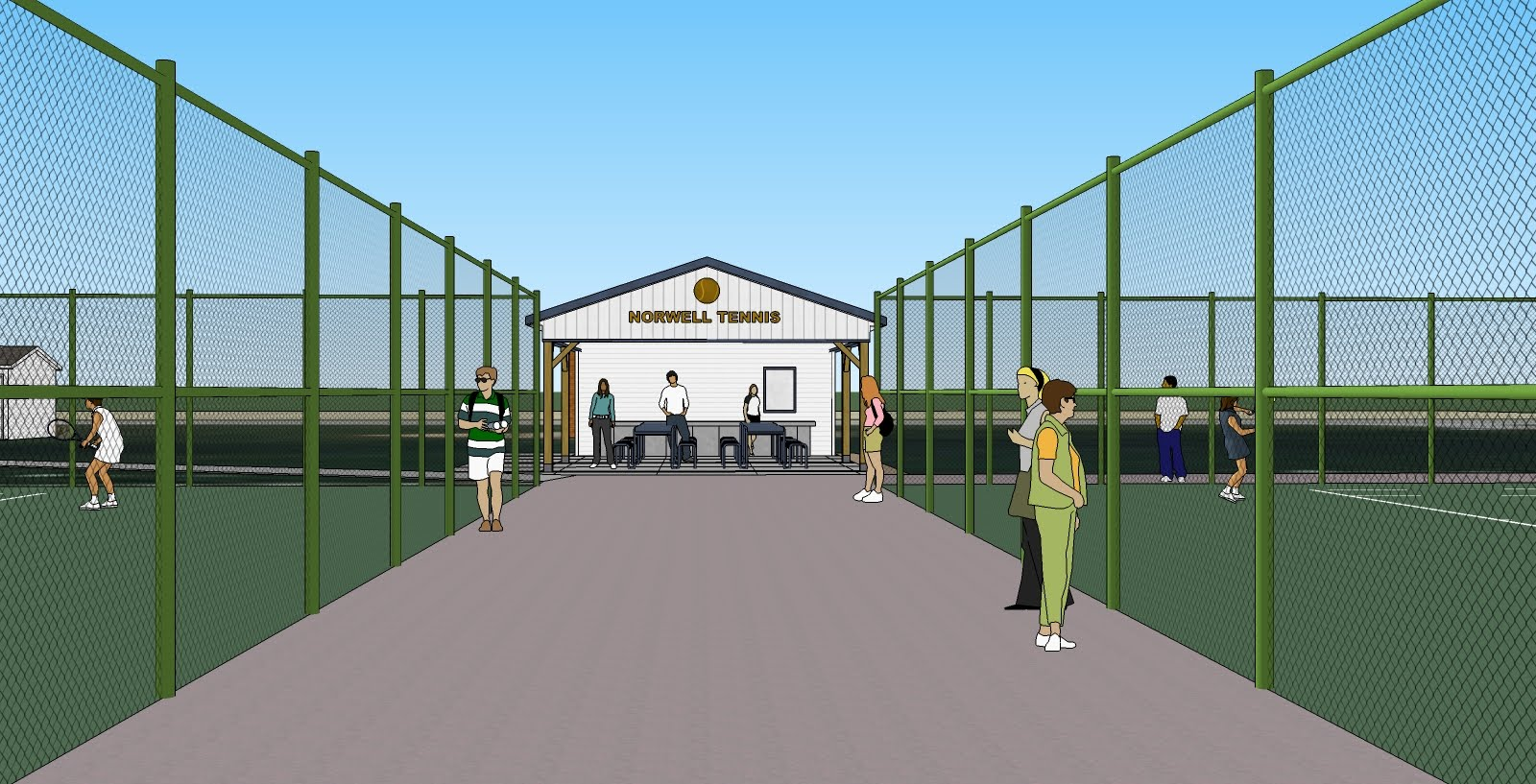 Cost Of Building New High School Tennis Courts