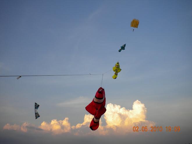 mini kite festival jubli mas