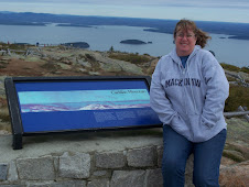 Jeri ontop of the highest Mountain along the East Coast