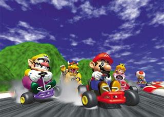 Super Mario Kart Gold !