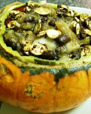 Gluten Free Dairy Free Vegan Recipe for Black Bean & Roasted Squash