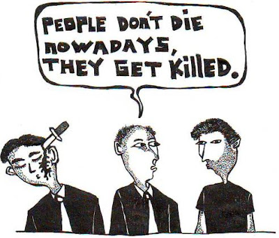 people, death, cartoon, comic