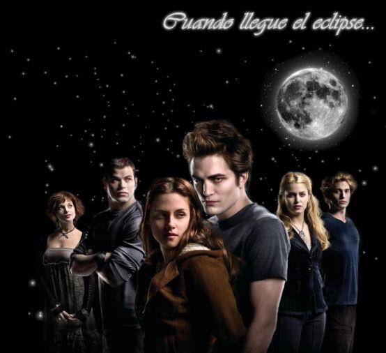 Crepusculo, Luna Nueva y Eclipse