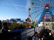 . that oncemagnificent theme park in the farthest reaches of Brooklyn. (coney island wonder wheel)