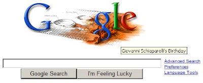 Giovanni Schiaparelli's Birthday