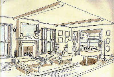 1 Interior Design Sketches