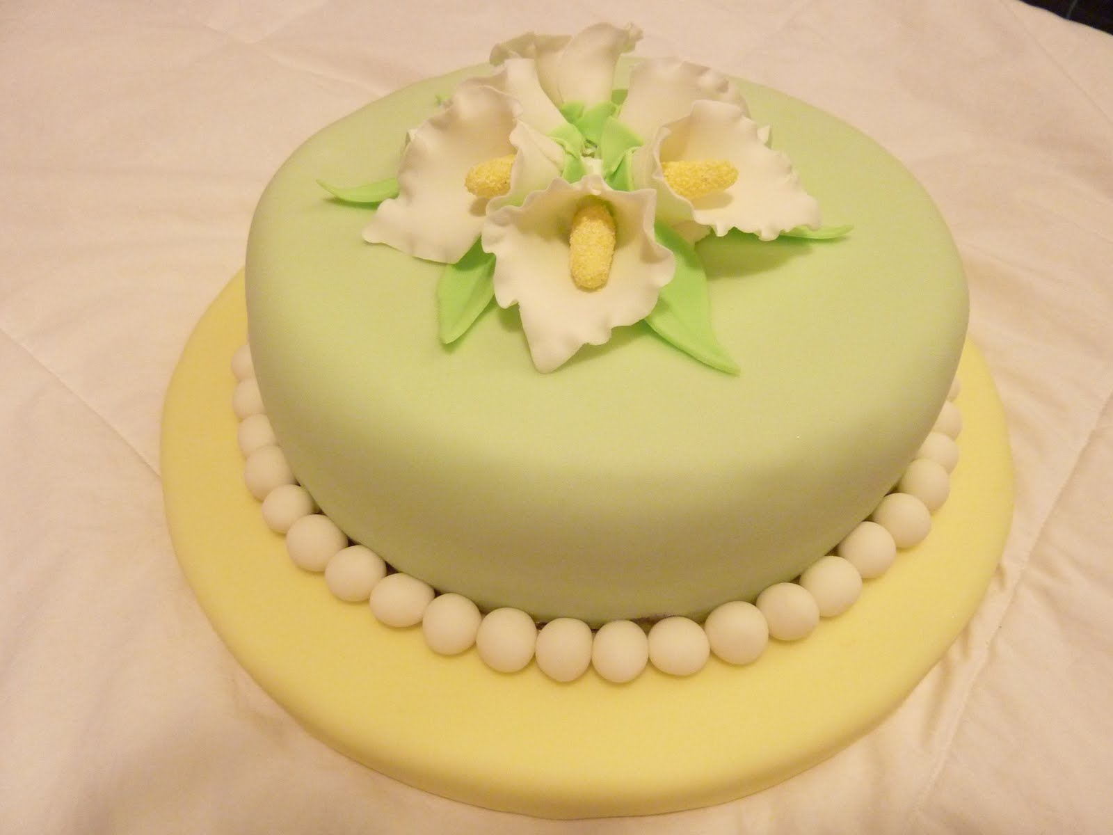 Fondant Cake Decorating Classes Michaels : Our Sweet Obsession: Gum Paste and Fondant Class Completed!!!