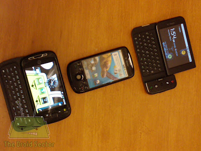 my Touch 3G,my Touch Slide and T-mobile G1