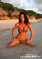 Cristin in a Malibu Strings sexy bikini in Curacao sexy bikini picture