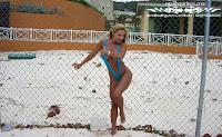 Heathyr R in a Malibu Strings bikini in Jamaica pic