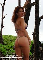 Christel in a Malibu Strings bikini in Maui photo