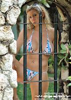 Karen in a Malibu Strings bikini in Jamaica pictures gallery