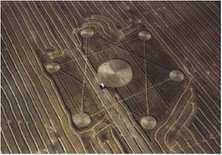 Amazing Crop Circle in Alberta, Canada Pictures Image Pics Gallery