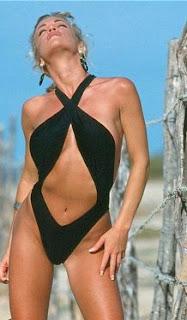 Pretzel One Piece Swimsuit pictures images pics photos gallery