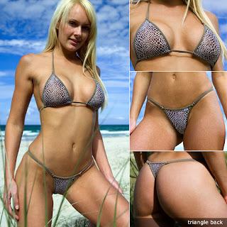 Snakeskin Mesh Bikini pictures images pics photos gallery