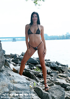 Black Open Net Bikini in the pictures images gallery