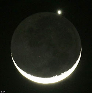 occultation Venus in May 16,2010 in the picture image gallery in the world