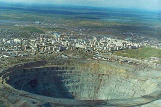 Mirny diamond mine,Siberia RUSIA pic photo image gallery