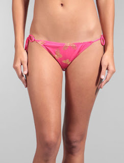 Juicy Couture Butterfly String Tie Bottom bikini in Martinique Color