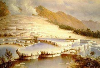 Pink and White Terraces nature phenomena picture in the world