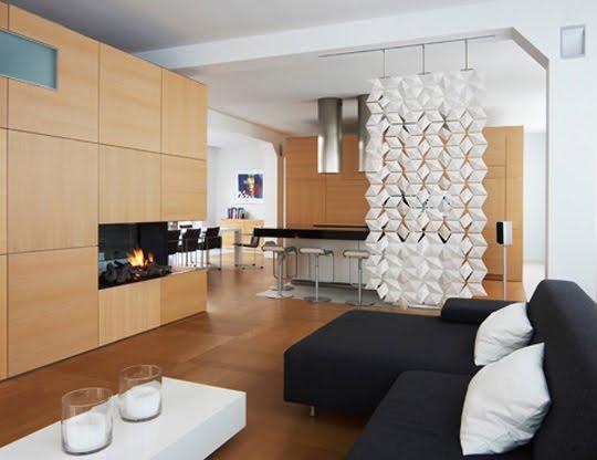 Un petit appartement à part: Séparateurs de pièces