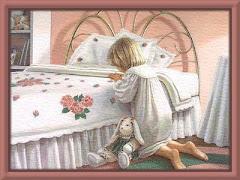 Orar é conversar com o Senhor.