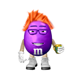 Lola as an m&m