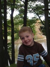 Tyson Arthur, age 3