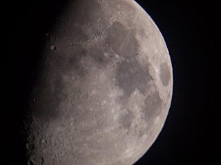 Moon at 100x mag
