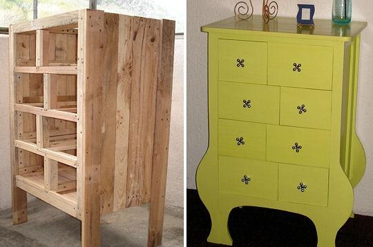 Muebles Gratis Con Palets Mueble Con Cajones Distintos Pasos
