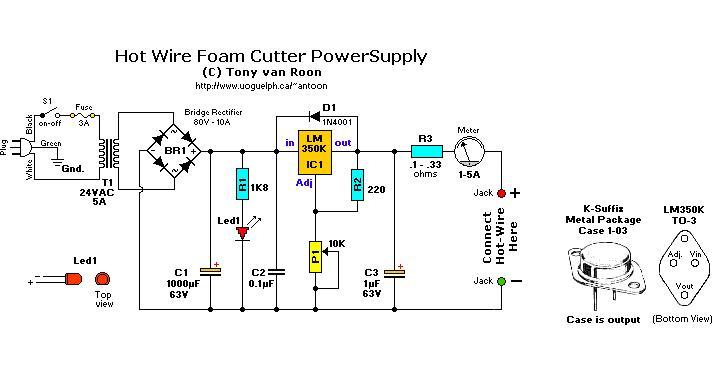 siera teknik elektronics hot wire cutter rh sierateknik blogspot com