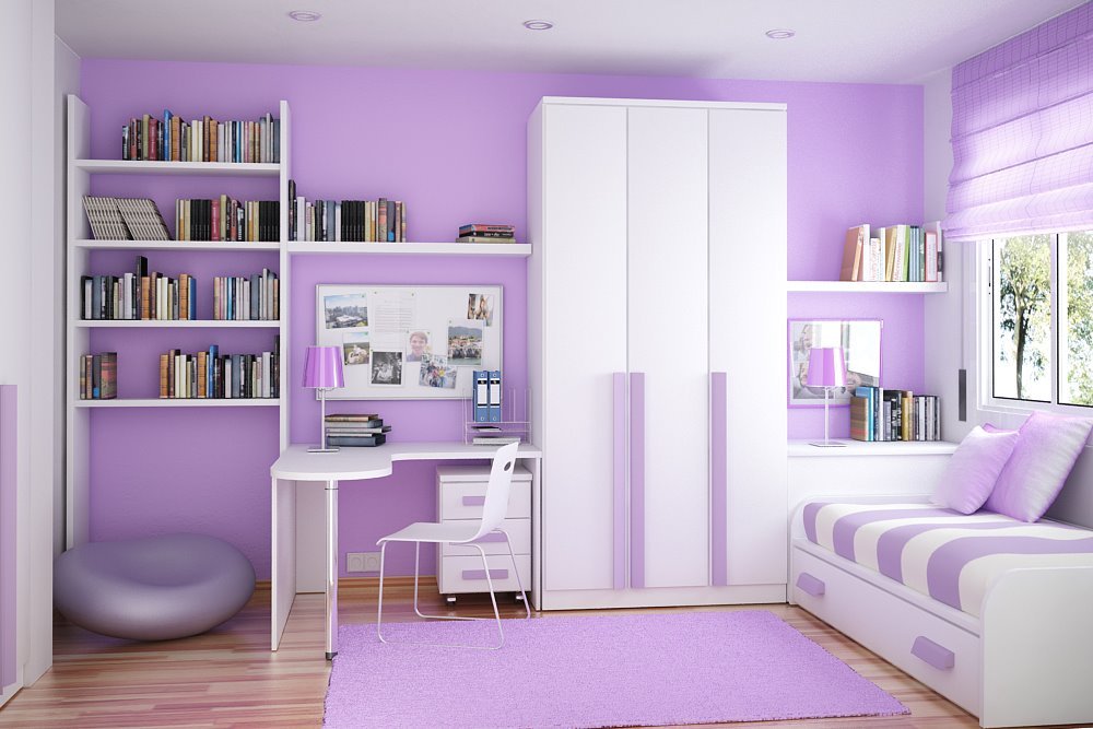 Small Kids Rooms Space With Colorful Decoration