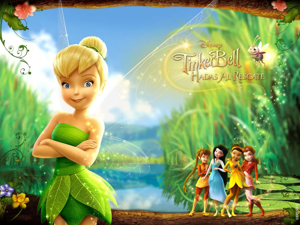 TINKER BELL ::HADAS AL RESCATE MOVIE :: Wallpapers : Finchito