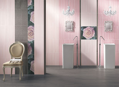 Pink Bathroom Design by ABK
