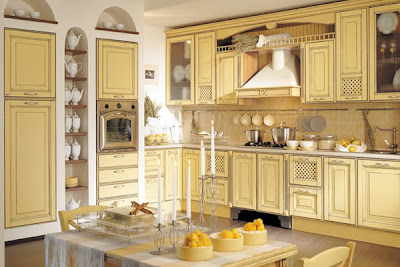 Provenzale Patinata kitchen