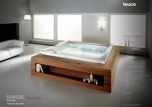 Bathtubs from teuco premier bathtubs - Teuco whirlpool ...