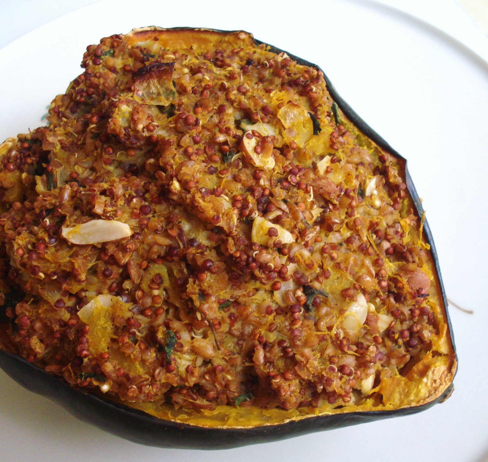 Stuffed Acorn Squash - Inspired RD