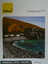 2009 Yellow Art Awards Winner- Canterbury Phone Book Cover