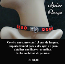 Acessórios - Coleira 3 - Atelier Omega