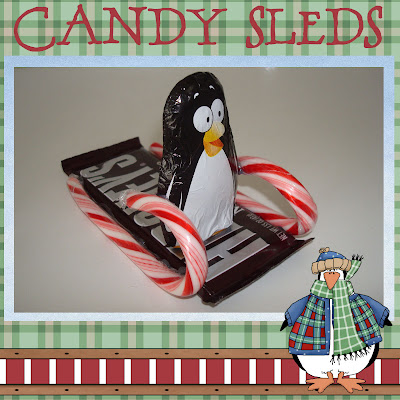 Homemaking Fun Candy Sleds