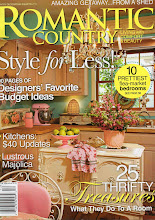 Check out our home in ROMANTIC COUNTRY 2010 Summer issue.
