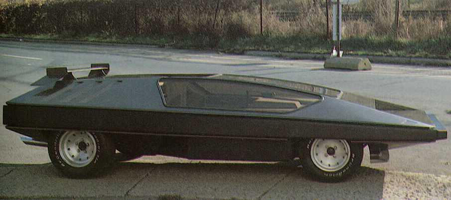 Black Moon Rising Car For Sale