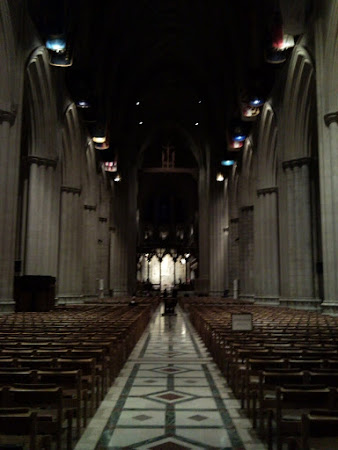 The National Cathedral at Evensong
