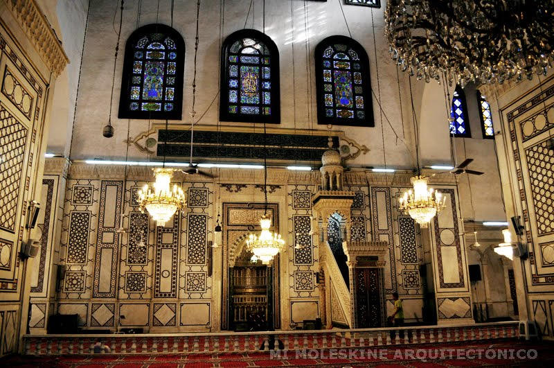 the great mosque od domascus