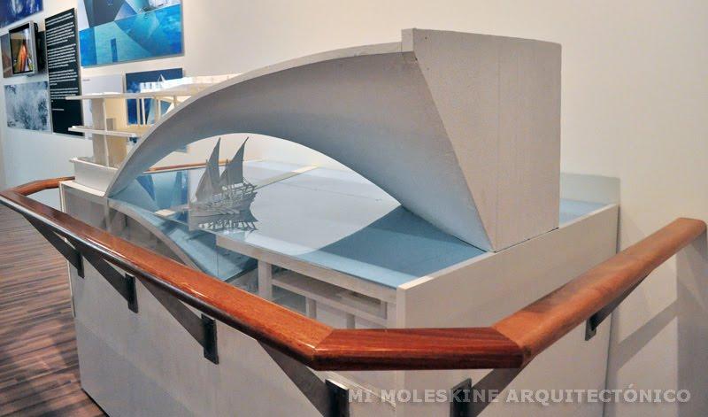 My Architectural Moleskine 174 Tadao Ando Maritime Museum