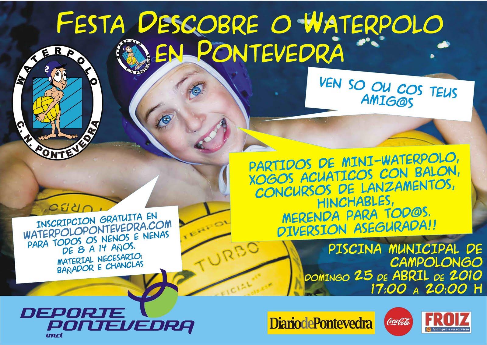 Waterpolo pontevedra blog abril 2010 for Piscina campolongo
